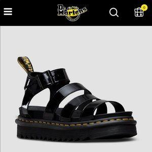 New dr martens sandals size 10